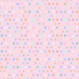 Vintage knitted background with polka dots Stock Photo