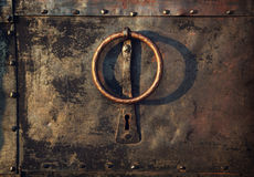 Vintage knocker door Royalty Free Stock Photos