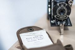 Vintage Kodak camera Royalty Free Stock Photos