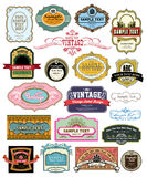 Vintage label Royalty Free Stock Photography