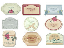 Vintage label. This is vector vintage label set Royalty Free Stock Image