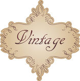 Vintage label Royalty Free Stock Image