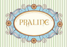 Vintage label. Cute vintage label with sample text Stock Image