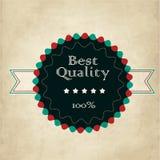 Vintage label vector illustration