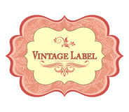 Vintage label Stock Image