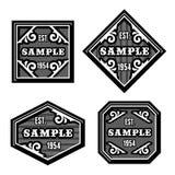 Vintage label Stock Images