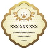 Vintage label. Include additional format eps (Adobe Illustrator Royalty Free Stock Image