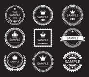Vintage label badge Stock Photos