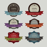Vintage of label design  create Royalty Free Stock Images