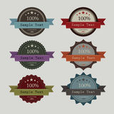 Vintage of label design  create Royalty Free Stock Photos
