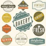 Vintage Label Design Royalty Free Stock Photography