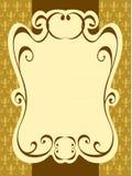 Vintage label frame pattern Royalty Free Stock Images