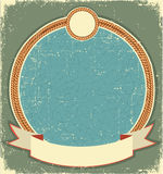Vintage label illustration Stock Photo
