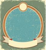 Vintage label illustration Stock Photo