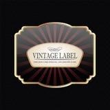 Vintage label Stock Photo