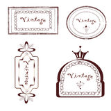 Vintage Label Set Stock Image