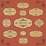 Vintage Label Style Collection Royalty Free Stock Images