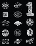 Vintage Label Vector Set Royalty Free Stock Photography