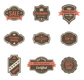 Vintage Labels. Stock Images