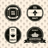 Vintage labels Stock Images