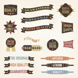 Vintage Labels and Banners Collection Royalty Free Stock Images
