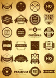Vintage labels. Big collection 1 Royalty Free Stock Photo