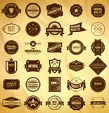 Vintage labels. Big collection 2 Stock Photos