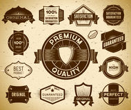 Vintage labels. Collection 1 Royalty Free Stock Photo
