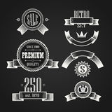 Vintage labels collection Royalty Free Stock Images