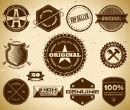 Vintage labels. Collection 20 Stock Photos