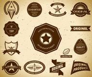 Vintage labels. Collection 11 Royalty Free Stock Image