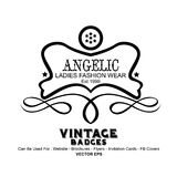 Vintage Labels - Fashion Stock Photography