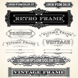 Vintage Labels and Ornaments Royalty Free Stock Images