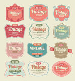 Vintage Labels Royalty Free Stock Photo