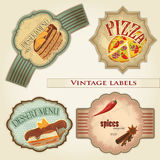 Vintage labels set Royalty Free Stock Images