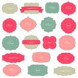 Vintage labels set Royalty Free Stock Photo