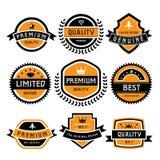 Vintage labels set Stock Image