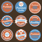 Vintage Labels set. Stock Photos