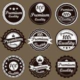 Vintage Labels set. Royalty Free Stock Images