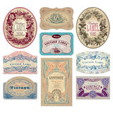 Vintage labels set (vector) Royalty Free Stock Image