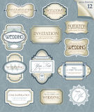 Vintage labels set Royalty Free Stock Image