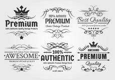 Vintage Labels stock illustration