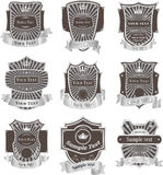 Vintage labels vector set Royalty Free Stock Photo