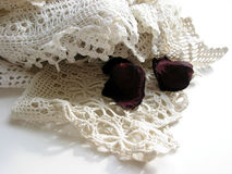 Vintage lace royalty free stock photo