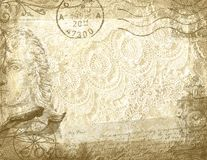 Vintage lace Stock Photography