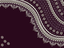 Vintage lace background Stock Image