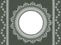 Vintage lace background Royalty Free Stock Image
