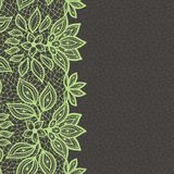 Vintage lace background, abstract ornament. Vector Royalty Free Stock Image