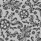 Vintage lace background, ornamental flowers Royalty Free Stock Photography