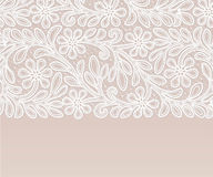 Vintage Lace Doily. Greeting card Royalty Free Stock Photography